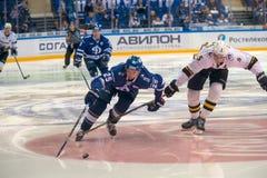 Galimov hockeyon曲棍球赛的安塞尔25 免版税库存图片