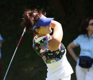 Galina Rotmistrova at the Fourqueux Ladies Open 2013 Stock Image