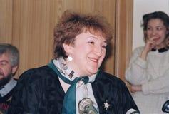 Galina Vasilyevna Starovoitova Foto de Stock Royalty Free