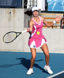 Galina Voskoboeva (KAZ), tennis player Royalty Free Stock Photo