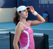 Galina Voskoboeva (KAZ), tennis player Royalty Free Stock Images