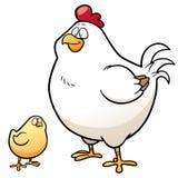 galinha ilustração stock