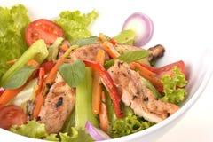 Galinha Caesar Salad Fotografia de Stock