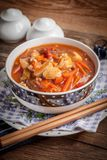 Galinha chinesa com vegetais Foto de Stock Royalty Free