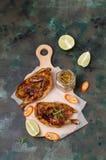 Galinha cornish fritada tradicional foto de stock