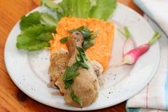 A galinha cozida Imagem de Stock