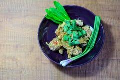 Galinha cozinhada com nardo Imagens de Stock