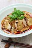 Galinha da saliva, galinha mouthwatering, culinária de China Sichuan imagens de stock royalty free