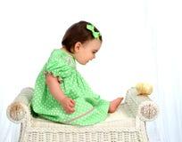 Galinha do bebê! imagem de stock royalty free