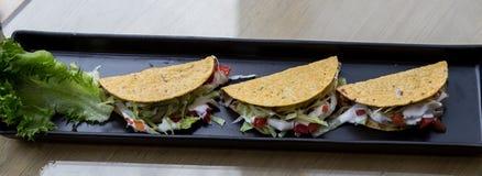 Galinha dos tacos Imagens de Stock Royalty Free