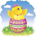 Galinha feericamente de Easter Imagem de Stock
