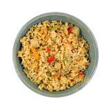 Galinha Fried Rice Bowl Imagens de Stock Royalty Free