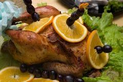 A galinha fritada Fotografia de Stock Royalty Free