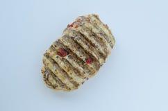 Galinha grelhada do bife isolada Imagem de Stock
