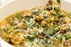 Galinha indiana picante, alimento Imagens de Stock Royalty Free