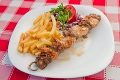 Galinha Kebabs fotos de stock royalty free