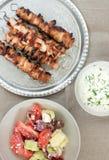 Galinha Kebabs Fotografia de Stock Royalty Free