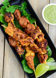 Galinha Tikka Kebab Foto de Stock