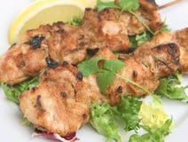 Galinha Tikka Kebabs fotos de stock
