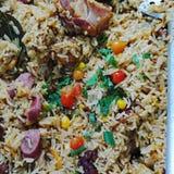 Galinhada mineira. Gastronomia comida tpica royalty free stock photos