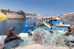 Galipoli港  库存图片