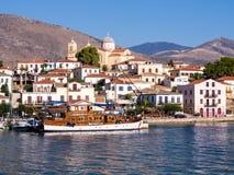 Galixidi, Griekenland Royalty-vrije Stock Afbeelding