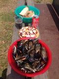 Galizisches Mittagessen Stockbilder