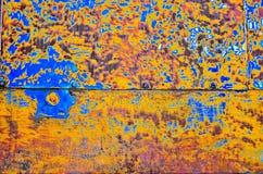 Galjanoplastia abstracta colorida Foto de archivo libre de regalías