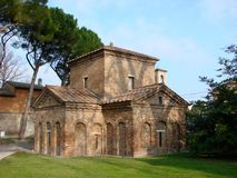 Galla Placidia Mausoleum Stock Photography