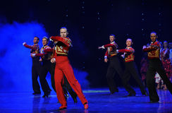 Gallant knight-Spanish flamenco-the Austria's world Dance Stock Photos