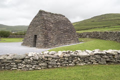 Gallarus krasomówstwo Irlandia zdjęcie royalty free