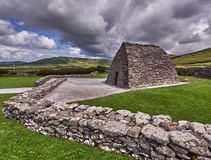 Gallarus Oratory. The Gallarus Oratory on the Dingle Peninsula, Republic of Ireland, is a major tourist attractions Royalty Free Stock Photos
