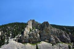 Gallatin κορυφογραμμή Στοκ εικόνα με δικαίωμα ελεύθερης χρήσης