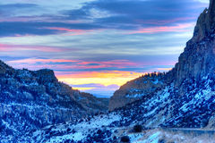 Gallatin Canyon Stock Images