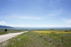 Gallatin Valley. Near Bozeman, Montana Stock Image