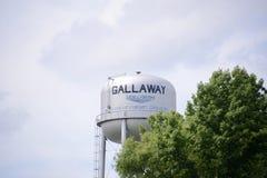 Gallaway Tennessee Water Tower Stock Afbeeldingen