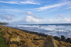 Galle Beach, Sri Lanka Royalty Free Stock Photo