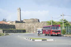 Galle dutch fort Stock Photos