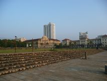Galle face hotel Royalty Free Stock Images
