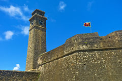Galle fort. Old dutch fort in Galle, Sri Lanka. UNESCO heritage site Stock Images
