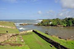 Galle fort Arkivfoton