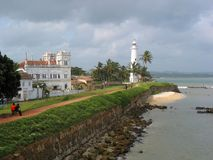 Galle fort Royalty Free Stock Photos