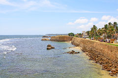 Galle fort - arv för Sri Lanka UNESCOvärld royaltyfria bilder