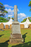 Galle Fort Dutch Reformed Church`s Gravestones, Sri Lanka UNESCO World Heritage. Originally built in 1640, the present building dates from 1752. Its floor is Royalty Free Stock Images