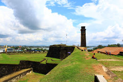 The Galle Fort Royalty Free Stock Photography