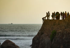 Galle fort jumpers Royalty Free Stock Photo