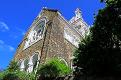 Galle Fort`s Anglican Church - Sri Lanka UNESCO World Heritage Stock Photography