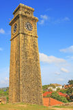 Galle Fort`s Anthonis Clock Tower - Sri Lanka UNESCO World Heritage Stock Photography