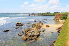 Galle Fort - Sri Lanka UNESCO World Heritage Royalty Free Stock Photo