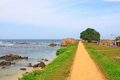 Galle Fort - Sri Lanka UNESCO World Heritage stock image